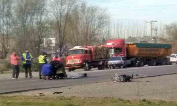 Último momento: Murió una mujer tras ser arrollada en la Ruta 22